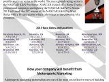 Dirt Track Racing Sponsorship Proposal Template K N Series Marketing Proposal Gsr