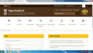 Disability Unique Id Card Registration India Apply for Disability Card Unique Disability Identity Card Udid In Engllish