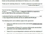 Disc Jockey Contract Template 16 Dj Contract Templates Pdf Word Google Docs Apple