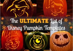 Disney Templates for Pumpkin Carving Free Disney Pumpkin Carving Templates