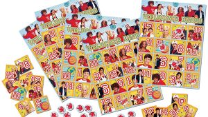 Disney Wrapping Paper Card Factory Factory Card and Party Outlet High School Musical 3 Bingo Game