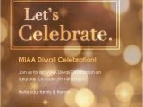 Diwali Celebration Email Template Miaa Diwali Party Online Invitations Cards by Pingg Com