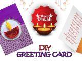 Diwali Greeting Card Making Ideas Making Diy Diwali Greeting Card Making Ideas Easy Diwali