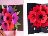 Diy 3d Flower Pop Up Card How to Make A Bouquet Flower Pop Up Card Darky Pa Ana A Ka A