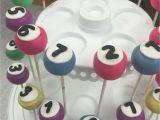 Diy Cake Pop Up Card for Birthday Bingo Ball Cake Pops Cake Pops Bingo Cake Boozy Cupcakes