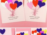 Diy Card for Teachers Day 6 Easy Ways to Make A Heart Valentine Card for Kids Fun365