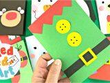 Diy Card Ideas 5 Minute Crafts Super Simple Elf Christmas Card Diy 5 Minute Card Making