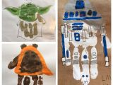 Diy Card Ideas for Father S Day Star Wars Handprint Cards for Fathers Day Star Wars