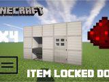 Diy Card Reader Door Lock How to Build A Redstone Key Card Reading Door Minecraft