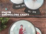 Diy Gift Card Snow Globe In A Jar Easy Photo Snow Globe Craft for Kids Video Video Snow Globe Crafts Globe Crafts Christmas Crafts Diy