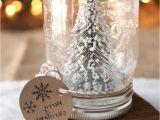 Diy Gift Card Snow Globe In A Jar Pin On Diy Crafts