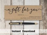Diy Gift Certificate Template the 25 Best Gift Certificate Template Word Ideas On