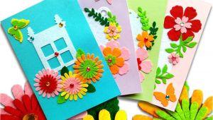 Diy Handmade Greeting Card Kits Card Making Kits Diy Handmade Greeting Card Kits for Kids Christmas Card Folded Cards and Matching Envelopes Thank You Card Art Crafts Crafty Set