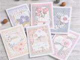 Diy Handmade Greeting Card Kits Diy Floral Flower Greeting Card Making Kit 6 Card Decoupage