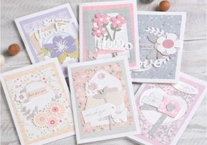 Diy Handmade Greeting Card Kits Diy Floral Flower Greeting Card Making Kit 6 Card Decoupage