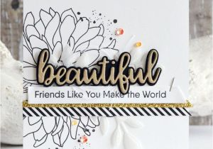 Diy Handmade Greeting Card Kits Handmade Card From Inge Groot Featuring Beautiful Bloom Card