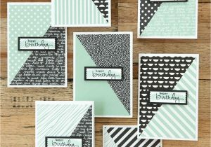 Diy Handmade Greeting Card Kits Stampin Up Scrapbooking tools Kits Simple Birthday