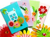 Diy Happy Teachers Day Card Card Making Kits Diy Handmade Greeting Card Kits for Kids Christmas Card Folded Cards and Matching Envelopes Thank You Card Art Crafts Crafty Set