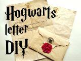 Diy Harry Potter Birthday Card Diy Hogwarts Letter Harry Potter Tutorial