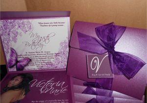 Diy Invitation Card for Debut 18th Birthday Invitation Debut 18th Birthday Invites