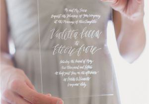 Diy Invitation Card for Debut Natural Tuscan Wedding Inspiration Acrylic Wedding