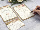 Diy Invitation Card for Wedding Boho Floral Diy Wedding Invitation Set