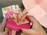 Diy Napkin Fold Card for Scrapbook How to Make An Explosion Box with Stampin Up S Painted with
