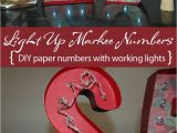 Diy ornament Place Card Holders Lighted Marquee 25 with Images Diy Holiday Decor