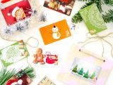 Diy ornament Place Card Holders Missionmerry Diy Gift Card Holders to Hang From the Tree