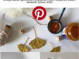 Diy ornament Place Card Holders Weihnachtsengel Aus Ginkgo Blattern Mit Bildern