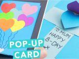 Diy Pop Up Birthday Card 3d Pop Up Card Diy Card Ideas