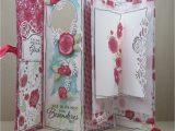 Diy Pop Up Card Flower Mein Mini Album Definition Von Gluck Stampin Up Onstage