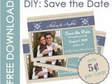 Diy Save the Date Magnets Template Save the Date Card Stock Diy Diy Projects