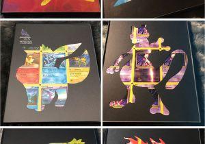 Diy Smash and Grab Gift Card Pokemon Card Shadow Art Anime Crafts Pokemon Room