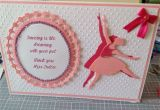 Diy Thank You Card for Teacher Thank You Dance Teachers Card with Images Greeting Cards