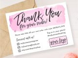 Diy Thank You Card Template Instant Download Editable and Printable Thank You Card for