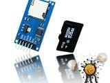 Diy Usb Sd Card Reader Details Zu Esp8266 Esp32 Esp8285 Arduino Spi Memory Expansion Kit Card Reader 8gb Sd Card