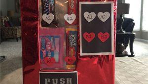 Diy Valentine S Day Card Box Vending Machine Valentine S Box Valentine Card Box