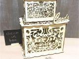Diy Wedding Card Box with Lock New Diy Wedding Gift Card Box Wooden Money Box with Lock and