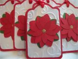 Diy Xmas Gift Card Holders Handmamde Christmas Gift Tags Red and White Layered