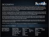 Dj Biography Template Dj Scottie Nyc House Radio