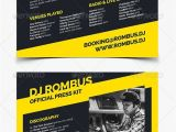 Dj Biography Template Press Kit Template Tryprodermagenix org