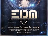 Dj Flyers Templates Free Edm Dj Flyer Template by Stormclub Graphicriver