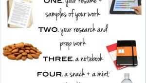 Do You Bring A Resume to A Job Interview What to Bring with You to A Job Interview
