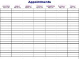 Doctor Appointment Calendar Template Importance Of Appointment Schedule Small Business