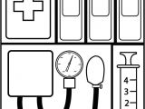 Doctor Bag Craft Template Doctor Bag Coloring Page Clipart Panda Free Clipart Images