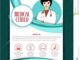 Doctor Brochure Template Free Medical Center Template Brochure or Flyer Stock Photo