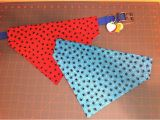 Dog Bandana Template Reversible Over the Collar Dog Bandana How to Make A