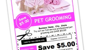 Dog Grooming Flyers Template Dog Grooming Business Templates