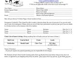Dog Sitting Contract Template Pet Sitting Agreement Contract Excellent 8 Best Of Free